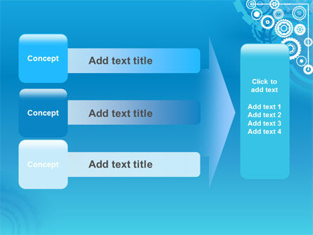 Pinion Blue Theme PowerPoint Template Slide 12