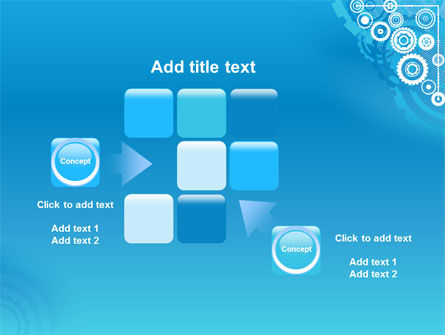 Pinion Blue Theme PowerPoint Template Slide 16
