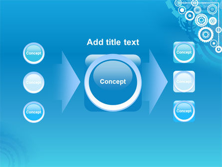 Pinion Blue Theme PowerPoint Template Slide 17