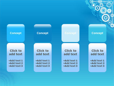 Pinion Blue Theme PowerPoint Template Slide 5