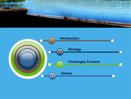 Swimming Party PowerPoint Template, Slide 3, 07851, People — PoweredTemplate.com