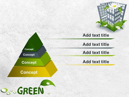Green Building PowerPoint Template, Slide 4, 07853, Nature & Environment — PoweredTemplate.com