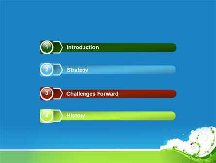 Curly Sprout PowerPoint Template, Slide 3, 07854, Nature & Environment — PoweredTemplate.com
