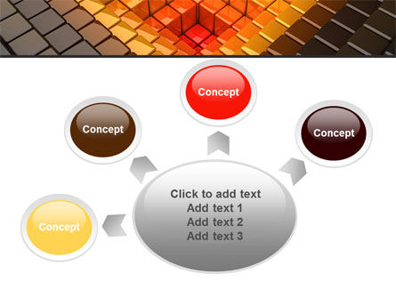 Inverted Pyramid PowerPoint Template Slide 7