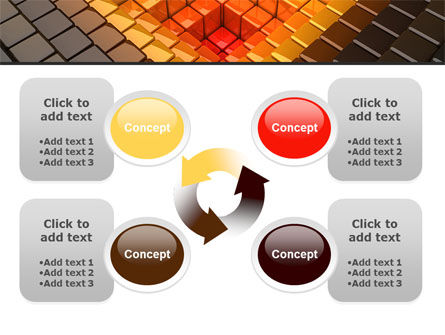 Inverted Pyramid PowerPoint Template Slide 9