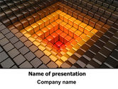 Abstract/Textures: Inverted Pyramid PowerPoint Template #07855