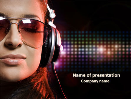 Music Lover PowerPoint Template
