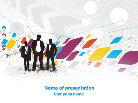 Business: Design Services PowerPoint Template #07860