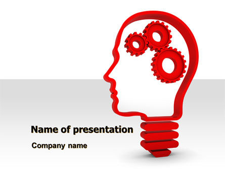 Thoughtful Process PowerPoint Template, 07862, Education & Training — PoweredTemplate.com