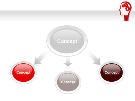 Thoughtful Process PowerPoint Template, Slide 4, 07862, Education & Training — PoweredTemplate.com