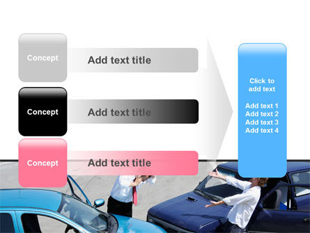Traffic Collision PowerPoint Template Slide 12