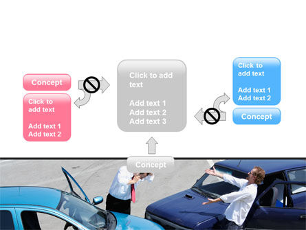 Traffic Collision PowerPoint Template Slide 13