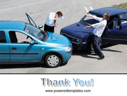 Traffic Collision PowerPoint Template Slide 20
