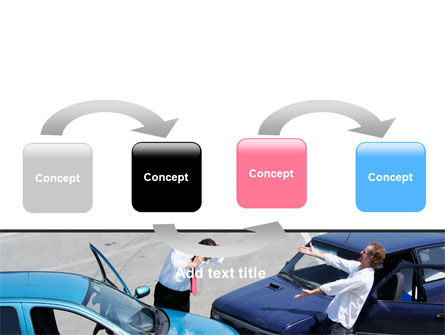 Traffic Collision PowerPoint Template, Slide 4, 07864, Financial/Accounting — PoweredTemplate.com