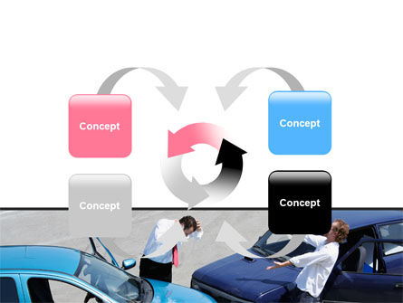 Traffic Collision PowerPoint Template Slide 6