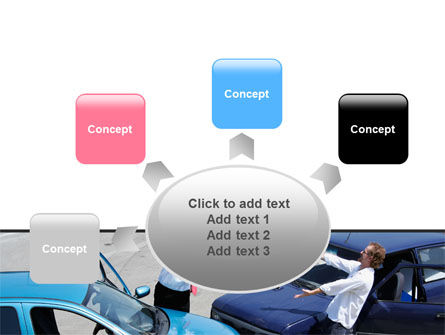 Traffic Collision PowerPoint Template Slide 7