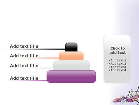 Wavy Branches PowerPoint Template Slide 8