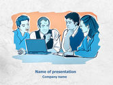 Education & Training: Planning Meeting PowerPoint Template #07867
