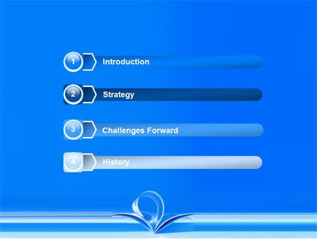 Blue Pages PowerPoint Template, Slide 3, 07868, Careers/Industry — PoweredTemplate.com