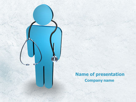 Medical Staff PowerPoint Template, 07869, Medical — PoweredTemplate.com