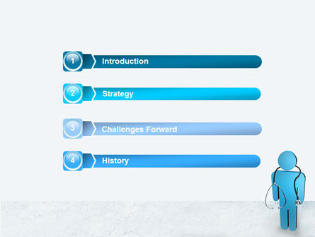 Medical Staff PowerPoint Template, Slide 3, 07869, Medical — PoweredTemplate.com