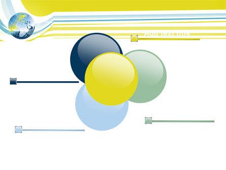 Yellow Globe Theme PowerPoint Template Slide 10
