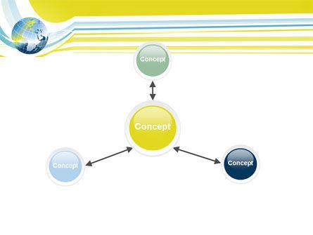 Yellow Globe Theme PowerPoint Template Slide 14