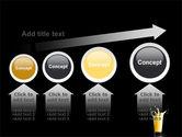 Glass Of Orange Juice PowerPoint Template#13