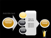 Glass Of Orange Juice PowerPoint Template#17