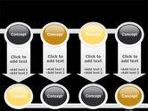 Glass Of Orange Juice PowerPoint Template#18