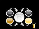 Glass Of Orange Juice PowerPoint Template#6