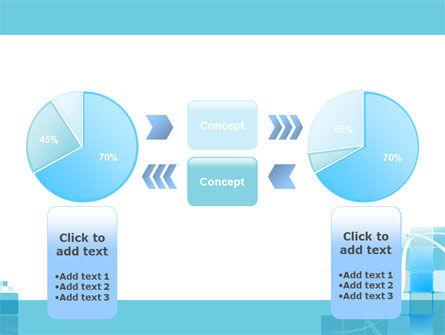 Aqua Cubic Theme PowerPoint Template Slide 11