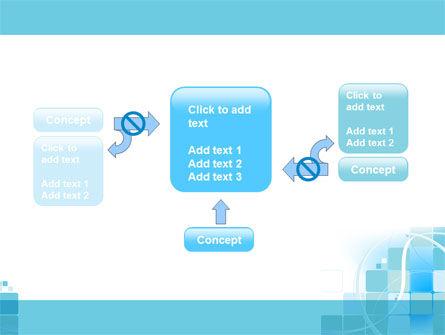 Aqua Cubic Theme PowerPoint Template Slide 13