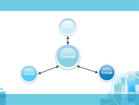Aqua Cubic Theme PowerPoint Template Slide 14