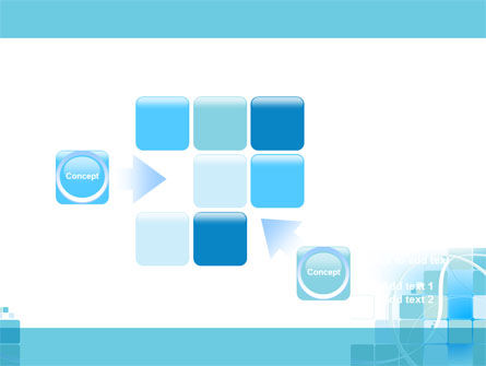 Aqua Cubic Theme PowerPoint Template Slide 16