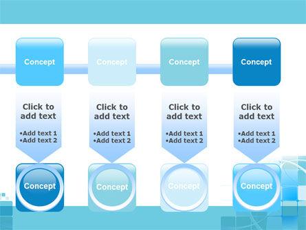 Aqua Cubic Theme PowerPoint Template Slide 18