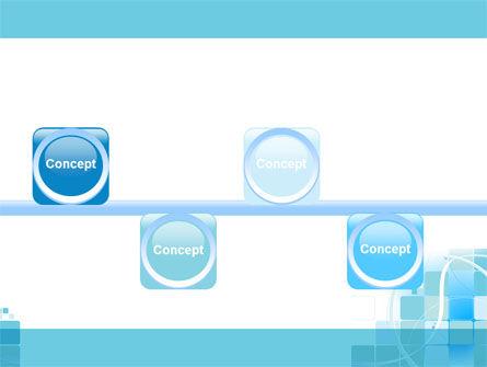 Aqua Cubic Theme PowerPoint Template Slide 19