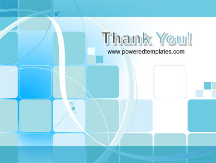 Aqua Cubic Theme PowerPoint Template Slide 20