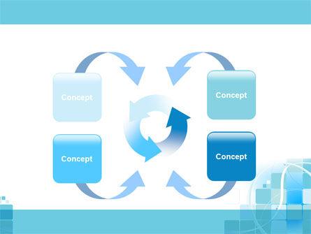Aqua Cubic Theme PowerPoint Template Slide 6
