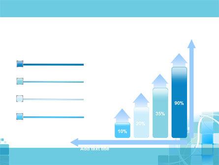 Aqua Cubic Theme PowerPoint Template Slide 8