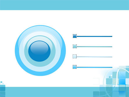 Aqua Cubic Theme PowerPoint Template Slide 9