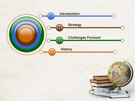 Study Geography PowerPoint Template, Slide 3, 07874, Education & Training — PoweredTemplate.com