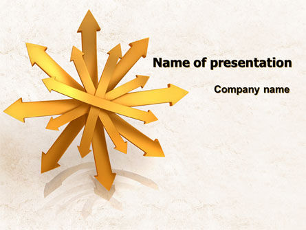 Consulting: All Directions PowerPoint Template #07879