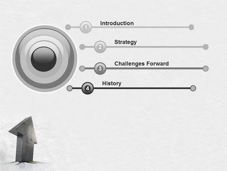 Stone Arrow PowerPoint Template Slide 3