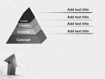 Stone Arrow PowerPoint Template, Slide 4, 07881, Business Concepts — PoweredTemplate.com