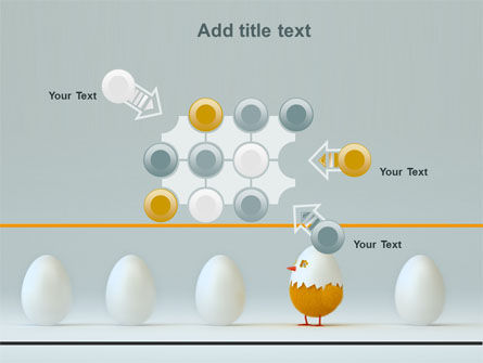 Hatched Chicken PowerPoint Template Slide 10