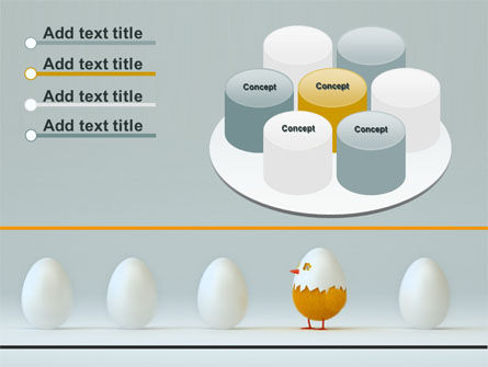 Hatched Chicken PowerPoint Template Slide 12
