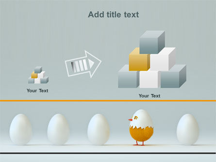 Hatched Chicken PowerPoint Template Slide 13