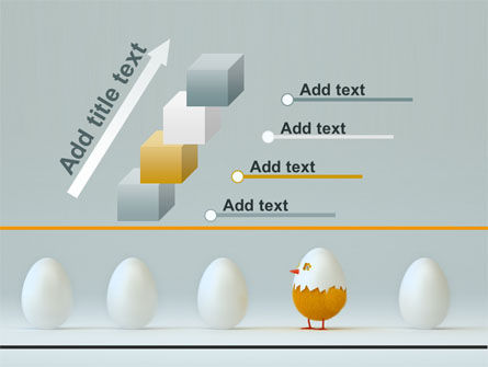 Hatched Chicken PowerPoint Template Slide 14