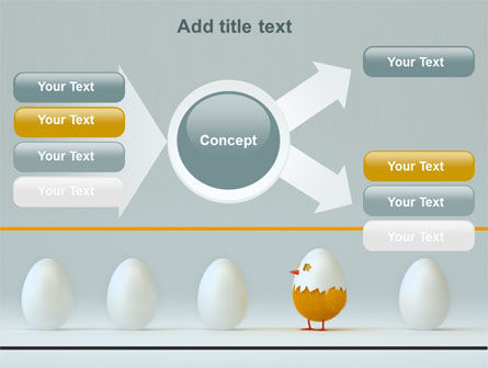 Hatched Chicken PowerPoint Template Slide 15
